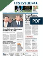 GradoCeroPress Mier 26 Nov 2014 Portadas Medios Nacionales