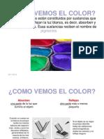 Como Vemos El Color
