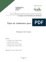 Agentes Inteligentes - Ambientes Deterministas y No Deterministas