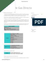 Proyecto de Gas Directo