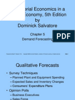 Demand Forecasting PPT