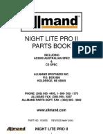 Nl Pro II Parts Manual - All Ld and v Models