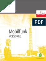 Strahlen Broschuere Mobilfunk 2014