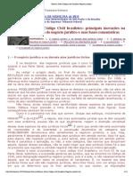 Moreira Alves Codigo Civil Brasileiro Negocio Juridico