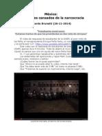 México - Estudiantes Cansados de La Narcocracia - Vicente Brunetti