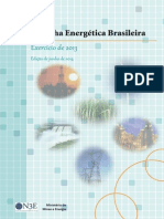 Balanço Energético Nacional - Resenha Energetica 2013