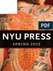 NYU Press | Spring 2015