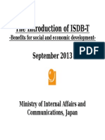 0913MIC_The Introduction of ISDB-T