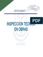 Inspeccion Tecnica en Obras Clase 1