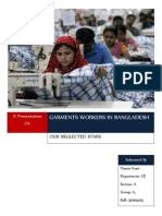 Garments Workers in Bangladesh