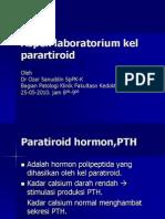 Penilaian Laboratorium Kel Parartiroid