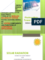 PV System Presentation