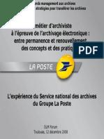 Le Metier Archiviste