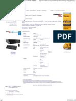 Computadora Lenovo ThinkCentre M73 SFF, i7-4790 3.60GHz, 4GB DDR3, 500GB SATA