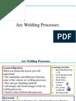 Arc Weld Processes