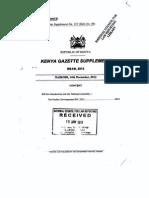 Poultry Development Bill 2012