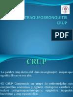 LARINGOTRAQUEOBRONQUITIS CRUP