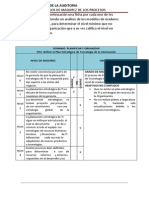 Auditoria de Sistemas COBIT