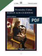 Cristina Fernandez Cubas Todos Los Cuentos PDF