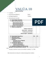 Manual Evalúa 10