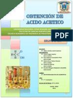 Trabajo de Bio( Produccion de Acido Acetico )