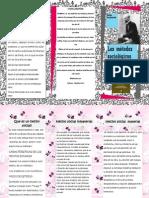 folleto sociologia  de Emile Durkheim.pdf
