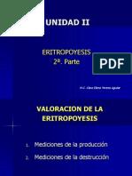 Eritropoyesis Parte 2