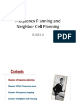 Frequency Planning and Neighbor Cell Planning