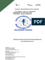 Propuesta Didáctica de Educación Física Para El Nivel Preescolar 2013. Educadoras