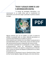 Aspectos Éticos y Legales de La Inf. Digital