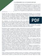 Desarrollo de La Panorámica de La Filosofía Antigu1