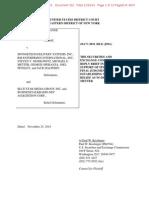 SEC v Spongetech Et Al Doc 332 Filed 25 Nov 14