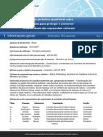Relatório Periódico Quadrienal Sobre as Medidas Para Proteger e Promover a Diversidade Das Expressões Culturais