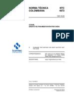 NTC 4973 Ensayo Fragmentación Por Caída Coque 2013 LFML