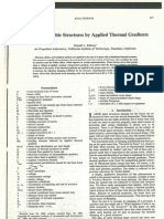 Control of Flexible Structures by Applied Thermal Gradient - Edberg