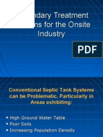 Advanced Treatment Systems-Secondary Treatment Systems for the Onsite Industry