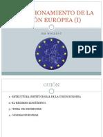 El Funcionamiento de La Unión Europea i