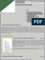 Flash Projectors and Crossplatform CD Burning FAQ