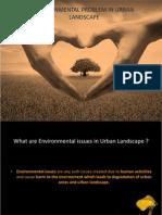 Environmental Problem in Urban Landscape