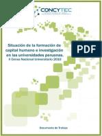 Diagnostico de universidades peruanas
