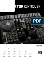 Traktor Kontrol S4 Setup Guide English