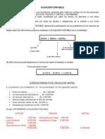 Tema III- Ecuación Contable