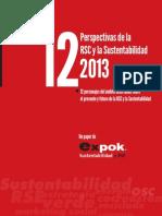 Perspectivas de La Rse y La Sustentabilidad