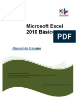 Manual Excel Basic 2010