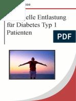 Potentielle Entlastung Für Diabetes Typ 1 Patienten