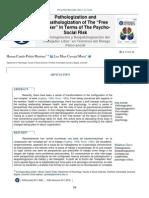 Pathologization and Depathologization