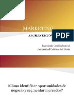Marketing - Segmentacion