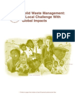 Integrated Solid Waste Management - A Local Challenges With Global Impacts USEPA 2002