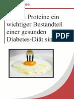 Warum Proteine ein wichtiger Bestandteil einer gesunden Diabetes-Diät sind