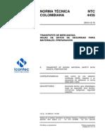 NTC 4435 2010 Preparación MSDS Transporte MerPel.pdf